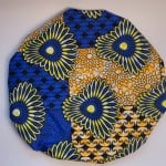 Blue and Yellow Floral